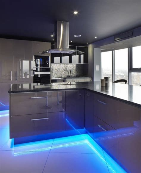 beautiful kitchen lighting how to apply the led trends to your home 1557