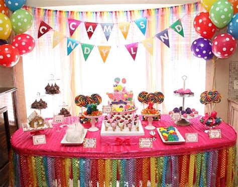 Candy Land Themed Birthday Party  Candyland, Candy Land