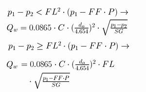 Calculator Water Flow Rate Through An Orifice Tlv A