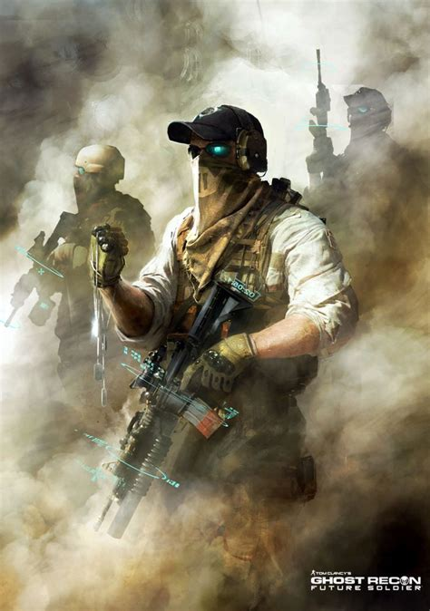 Ghost Recon Future Soldier Official Art 5 By Darkapp On