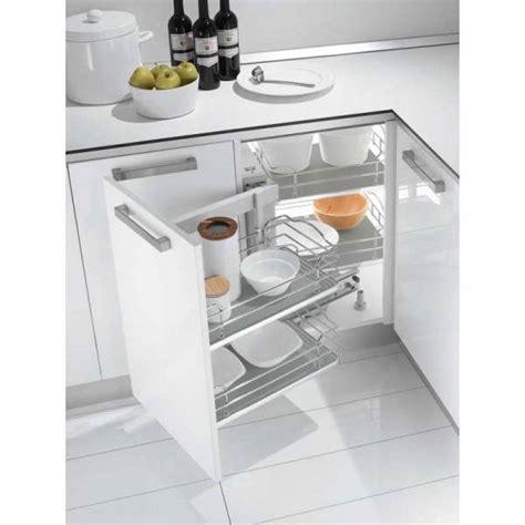 meuble bas d angle pour cuisine ferrure d 39 angle dynamic croner pour meuble bas