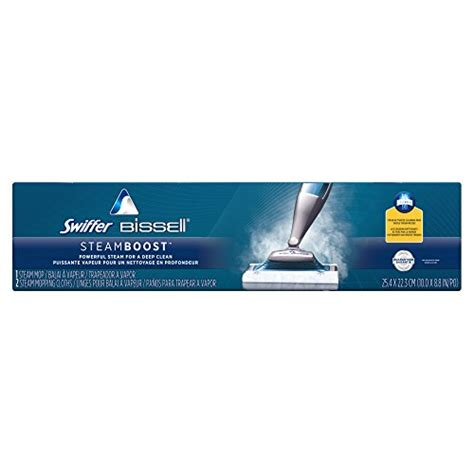 swiffer steam boost for laminate floors swiffer bissell steamboost steam mop starter kit in the box