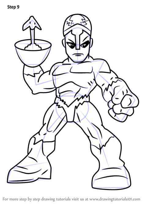 learn   draw klaw   super hero squad show