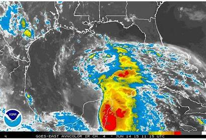 Gulf Tropical Mexico Disturbance Weather Texas Moving