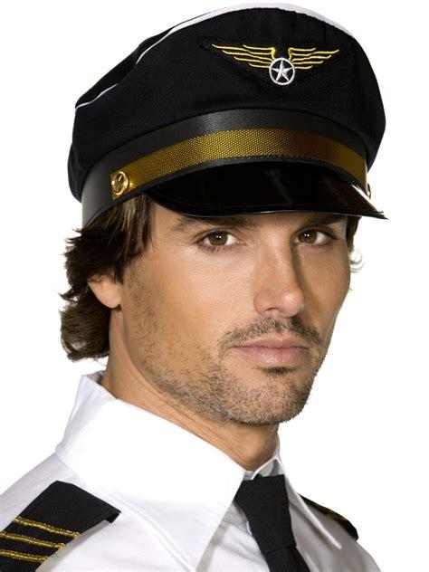 pilots cap occupation accessories mega fancy dress