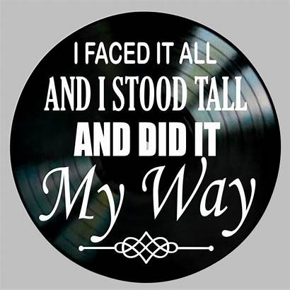 Sinatra Way Frank Lyrics Song Record Lyric