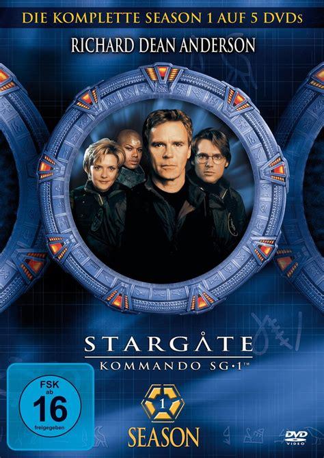 stargate kommando sg  staffel  dvd oder blu ray