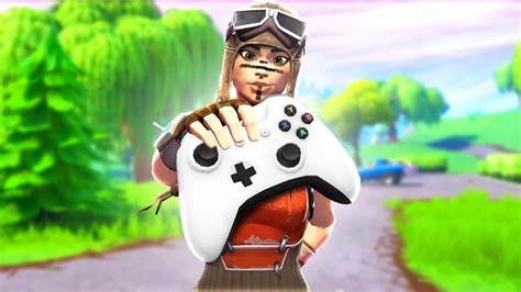 fortnite thumbnail holding ps controller fortnite