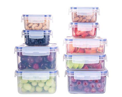 airtight kitchen storage containers komax biokips food storage containers set airtight 9 4008
