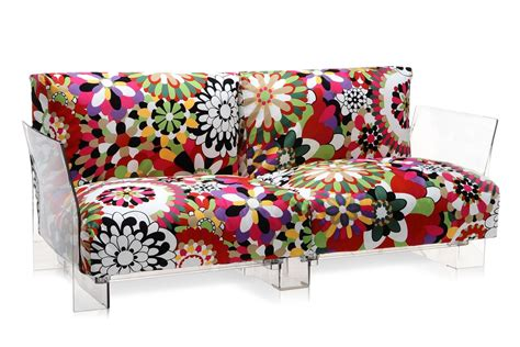 canap kartell pop missoni sofa design sofa kartell 2 or 3 seats with