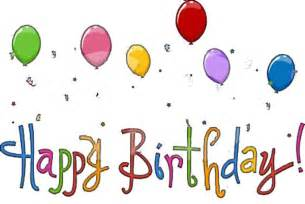 Happy Birthday Animated Clip Art
