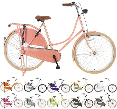 sport fahrrad damen 28 quot zoll damen fahrrad popal omafiets om28 retro hollandrad vintage r 252 cktritt kaufen bei