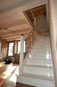 Peindre Escalier En Bois : charming peindre des marches d escalier en bois 11 ~ Dailycaller-alerts.com Idées de Décoration