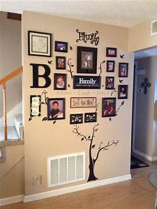 25 best ideas about family tree wall on pinterest With wall decoration ideas