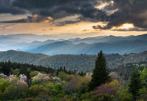 Ridge Lisd by At Cowee Mountains Overlook By Johan Hakansson