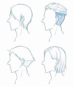 Coiffure Manga Garçon : cheveux courts homme apprendre dessiner avec khy ~ Medecine-chirurgie-esthetiques.com Avis de Voitures