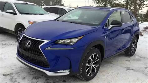ultrasonic blue  lexus nx  awd  sport series