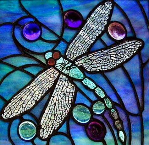 dragonfly stained glass l stained glass dragonfly pottery pinterest