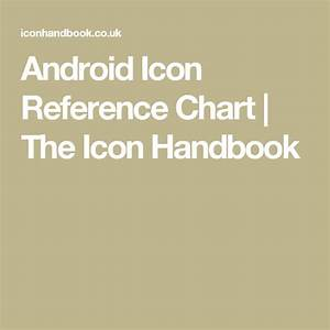 Android Icon Reference Chart