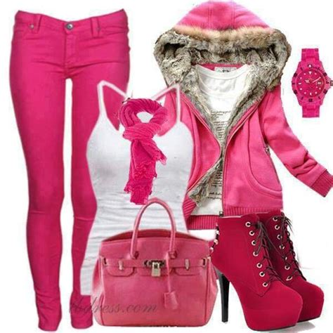 79 best Pink Outfits images on Pinterest   Pink outfits ...