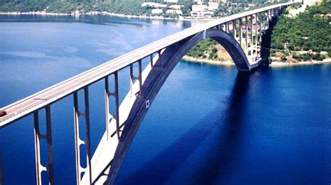 Krčki most - The story of Krk bridge - YouTube