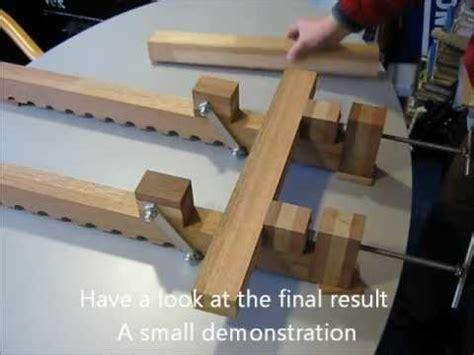 homemade heavy duty bar clamp youtube