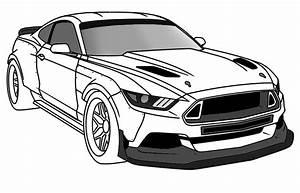 Supercars Gallery: Ford Mustang Gt Ausmalbilder