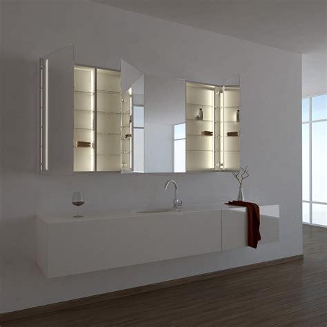 Badezimmer Spiegelschrank Ordnung by Spiegelschrank Ogrel Mit Led Beleuchtung Badezimmer