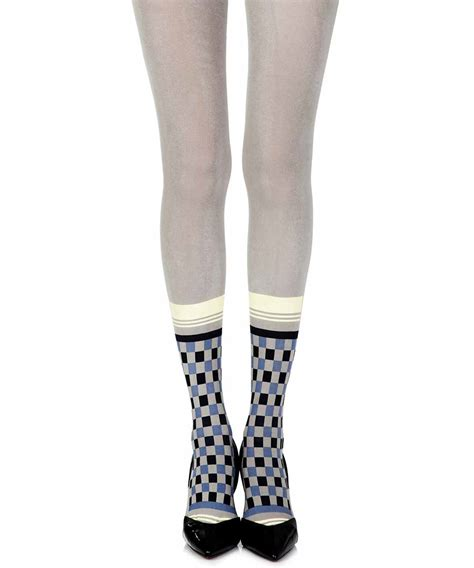 light grey opaque tights light grey opaque print tights quot happy socks quot trendylegs