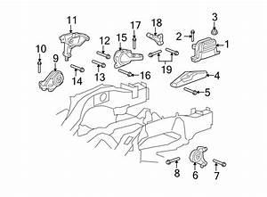 Chevrolet K1500 Engine Mount  Liter  Motor  Bearings