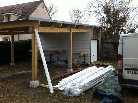plan abris de jardin toit plat 18 maison ossature bois