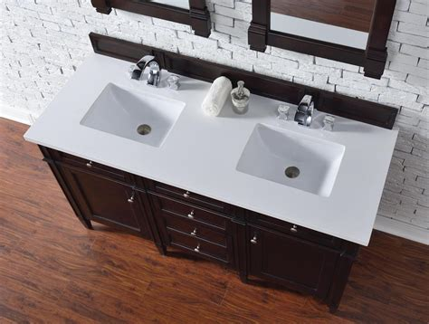 60 inch double sink vanity top contemporary 60 inch double sink bathroom vanity mahogany