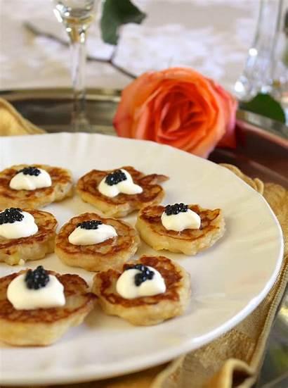 Caviar Truffle Appetizer Boxty Miniature Appetizers Fraiche