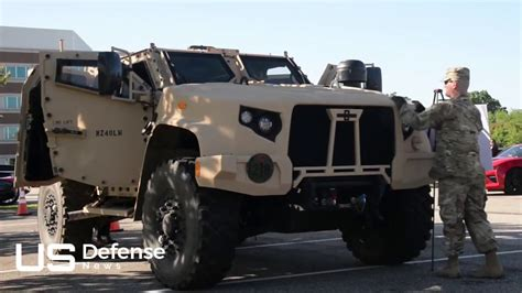 The Us Army Has Unveiled New Military Vehicles To Replace