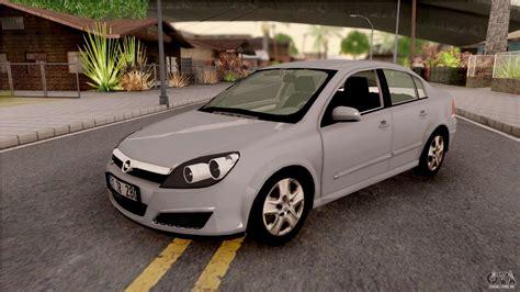Opel Sedan by Opel Astra H Sedan Para Gta San Andreas