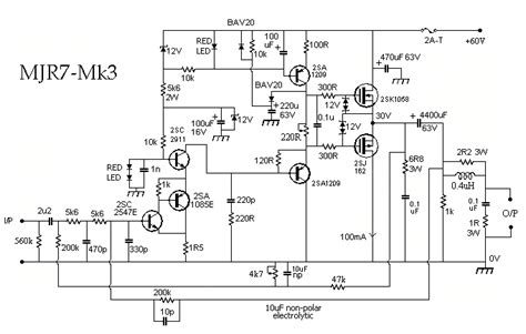 Mjr Mosfet Audio Power Amplifier Hubby Project