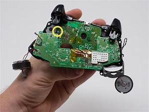 Xbox One Wireless Controller Model 1708 Bottom Motherboard