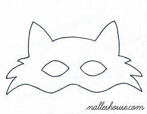 fox mask template sewing projects pinterest mask With template of a fox