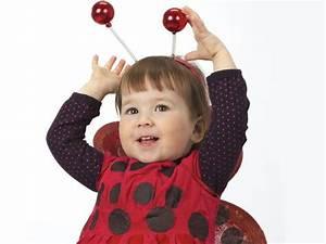 Disfraz casero de mariquita para niños