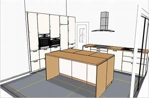 Jambage Plan De Travail : les projets implantation de vos cuisines 8831 messages page 524 ~ Melissatoandfro.com Idées de Décoration