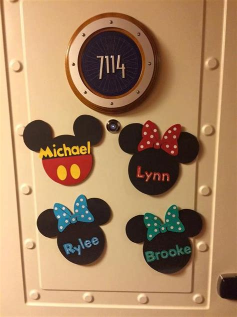 disney magnets for cruise door disney cruise line door magnet mouse door magnet