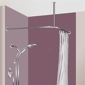 Rideau De Douche : poser un rideau de douche douche ~ Voncanada.com Idées de Décoration