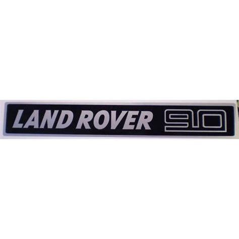 landrover land rover  defender bonnet decal sticker
