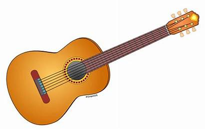 Guitar Clip Clipart Musical Graphic Instrument