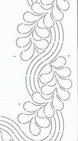 Stencils Quilting Border Cable Bing Feather Quilt Stencil Checkerdist Inch источник Notions Keryn Emmerson Templates Patterns sketch template