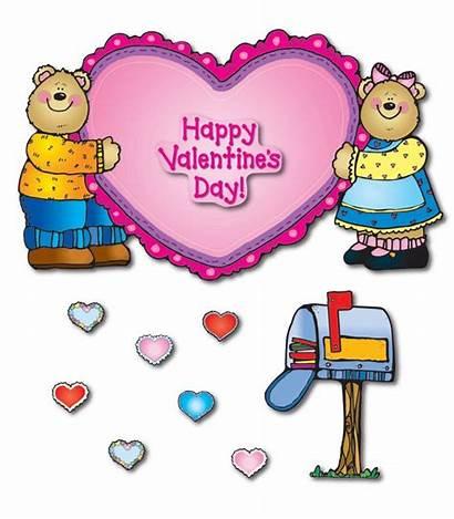 Bulletin Board Valentines Carson Dellosa Bears Heart