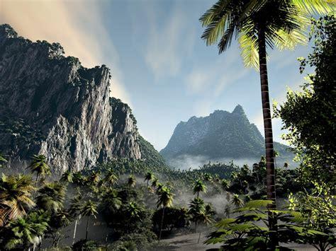 islands lost island nature forests hd desktop wallpaper