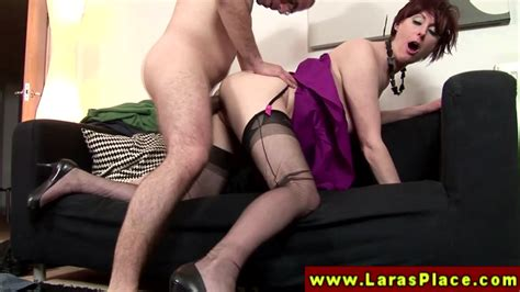 Euro Milf In Stockings Fucked Doggystyle Mature Porn