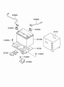 371122e100 - Hyundai Insulation Pad