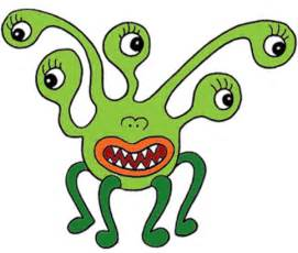Cartoon Monster Clip Art Free